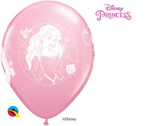 """12"""" / 30cm 6szt Disney Princess Cameos Asst of Wild Berry, Pink, Spring Lilac Qualatex #19229"""