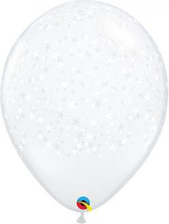 16″ / 41cm Stars-A-Round Diamond Clear Qualatex #38865-1