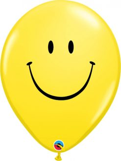 16″ / 41cm Smile Face Yellow Qualatex #39299-1