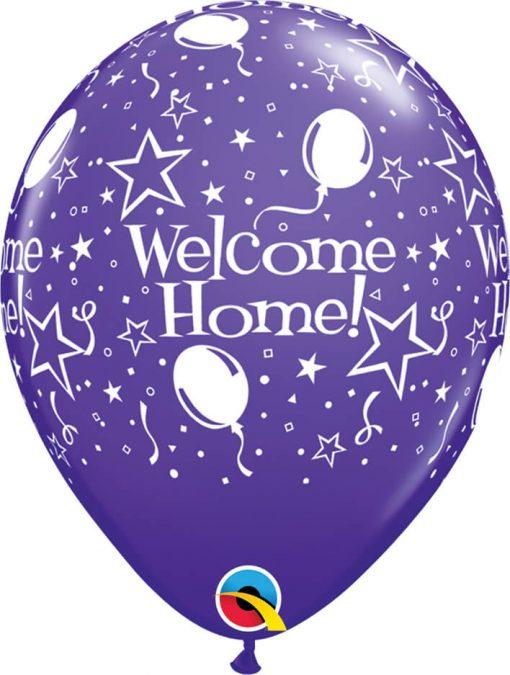 "11"" / 28cm Welcome Home! Stars-A-Round Tropical Asst Qualatex #46036-1"