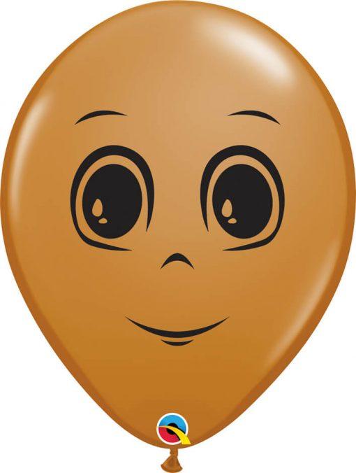 16″ / 41cm Masculine Face Mocha Brown Qualatex #49885-1