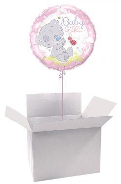 18″ / 46cm Poczta Balonowa Classic z Tiny Tatty Teddy z Balonem Foliowym