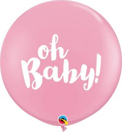 3' / 91cm Oh Baby! Pink Qualatex #85829-1