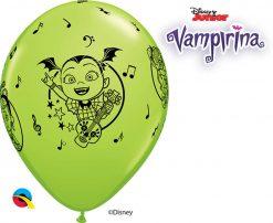 "11"" / 28cm Disney Vampirina Asst of Wild Berry, Lime Green, Robin's Egg Blue Qualatex #89516-1"