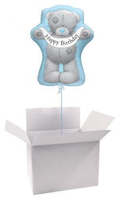 """36"""" / 91cm Poczta Balonowa Classic Tatty Teddy z Dużym Balonem Foliowym"""