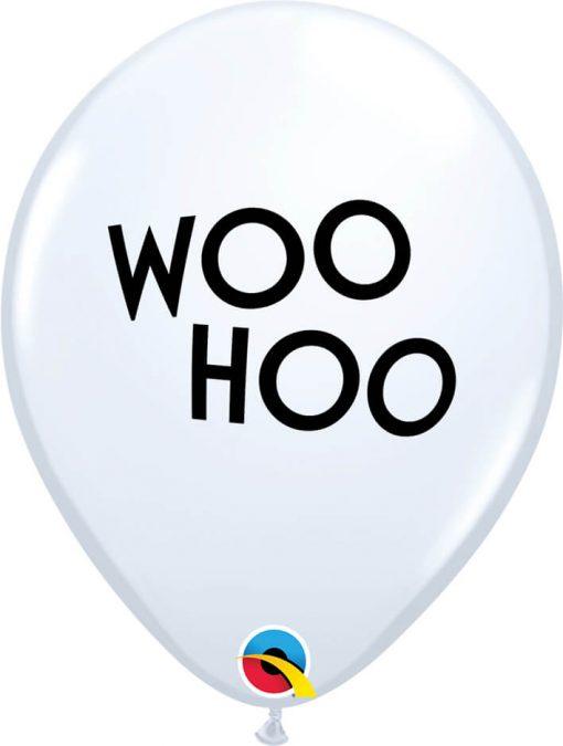 "11"" / 28cm Simply Woo Hoo White Qualatex #90958-1"