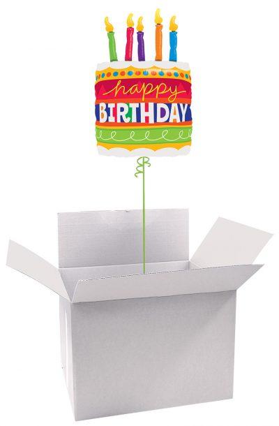 """35"""" / 89cm Poczta Balonowa Classic Urodzinowa z Dużym Balonem Foliowym #Foliowy Urodzinowa Duża"""