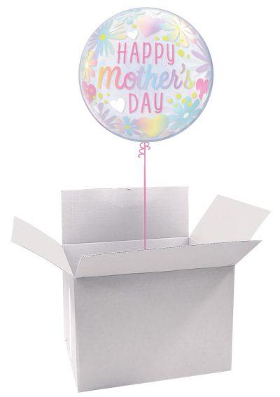 22″ / 56cm Poczta Balonowa Na Dzień Mamy Classic z Balonem Bubbles #Bubbles Classic Dzień Mamy