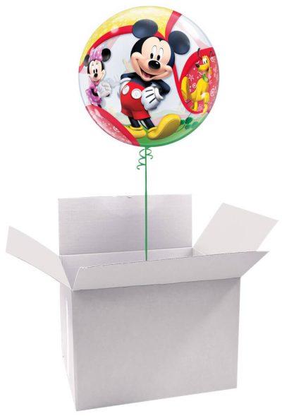 """22"""" / 56cm Poczta Balonowa Classic Disney Mickey/Minnie z Balonem Bubbles #Bubbles Classic Disney Mickey/Minnie"""