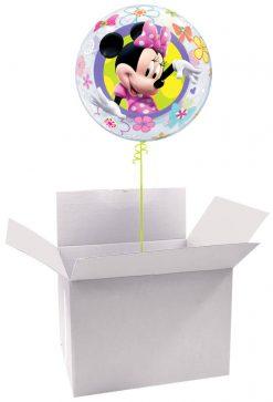 """22"""" / 56cm Poczta Balonowa Classic Disney Mickey / Minnie z Balonem Bubble"""