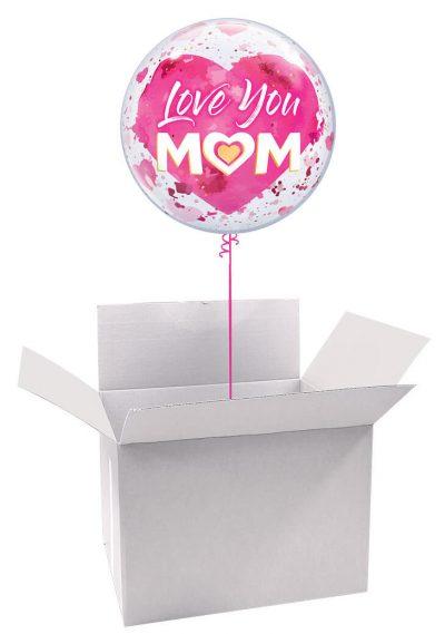 22″ / 56cm Poczta Balonowa Dla Mamy Classic z Balonem Bubbles #Bubbles Classic Dla Mamy