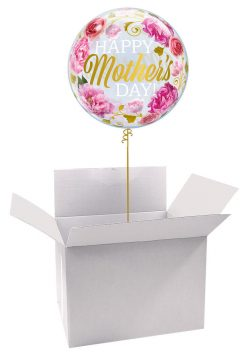 22″ / 56cm Poczta Balonowa Na Dzień Mamy Classic z Balonem Bubble