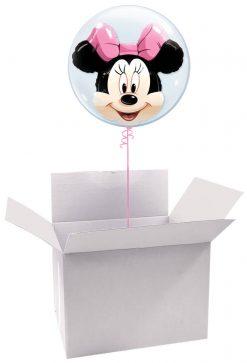 """24"""" / 61cm Poczta Balonowa Prestige Disney z Balonem Double / Deco Bubble"""