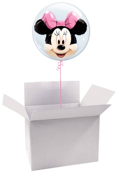 "22"" / 56cm Poczta Balonowa Prestige Disney z Balonem Double/Deco Bubble #Double/Deco Disney"