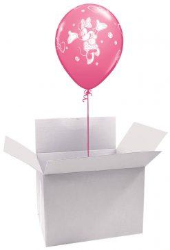 """12"""" / 30cm Poczta Balonowa Classic Disney Mickey/Minnie z Balonem Lateksowym"""