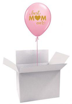 """11"""" / 28cm Poczta Balonowa Classic Dla Najlepszej Mamy z Balonem Lateksowym"""