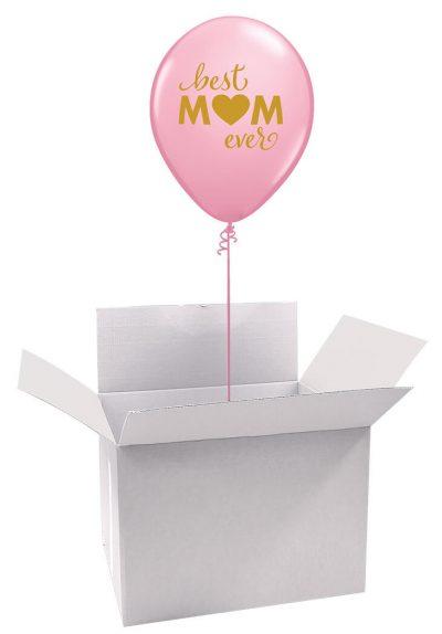 """11"""" / 28cm Poczta Balonowa Classic Dla Najlepszej Mamy z Balonem Lateksowym #Lateksowa Classic Dla Najlepszej Mamy"""