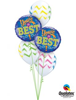 Bukiet 955 Simply The Best! Qualatex #11833-2 44863-3