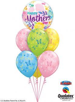 Bukiet 907 Mother's Day Butterflies Qualatex #55581 38428-6