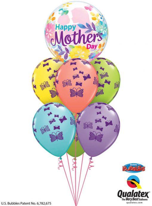 Bukiet 908 Mother's Day Love Rises Qualatex #55581 48365-6