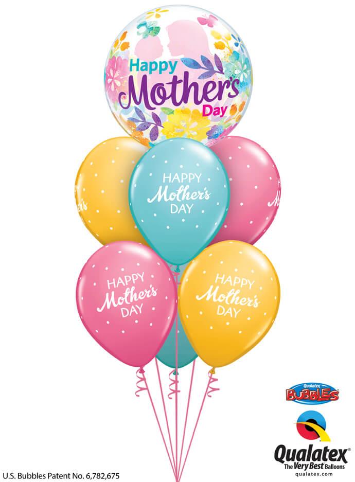 Bukiet 911 Celebrate Mom Qualatex #55581 57182-6