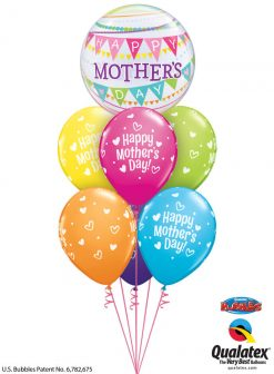 Bukiet 947 Mother's Day Heart Party Qualatex #55799 12333
