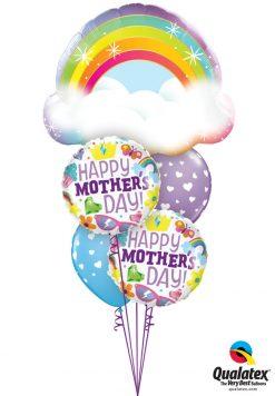Bukiet 946 Moms Are Magical! Qualatex #97538 98425-2 11644-2