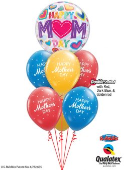 Bukiet 919 You're Terrific, Mom! Qualatex #98326 85704-6 43742-1 43790-1 43748-1