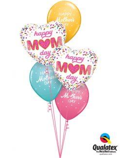 Bukiet 956 Love You Mom! Qualatex #98415-2 57182-3