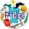 """18"""" / 46cm Everything Father's Day Qualatex #98465"""