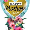 """38"""" / 96cm Mother's Day Heart Bouquet Qualatex #98515"""