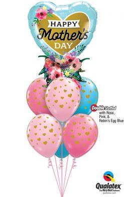 Bukiet 928 For a Wonderful Mom Qualatex #98515 85706-6 43791-2 82685-2 43766-2