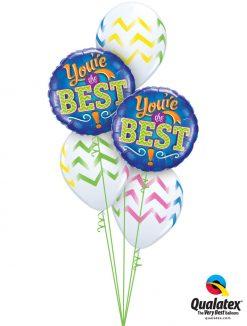 Bukiet 983 Simply The Best! Qualatex #11833-2 88212-3