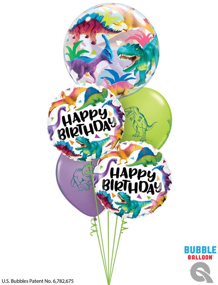 Bukiet 981 Have a GIGANTIC birthday! Qualatex #13088 97382-2 37097-2