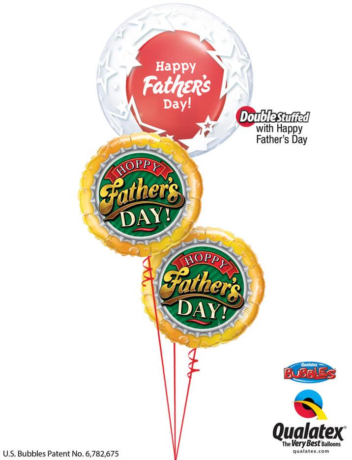 Bukiet 996 Father's Day Superstar Bubble Qualatex #42671 82297-2 24362-1