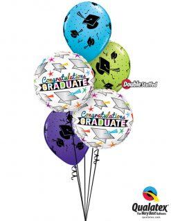 Bukiet 961 Celebrate Grad! Qualatex #47520-2 41544 48955 82699 82685