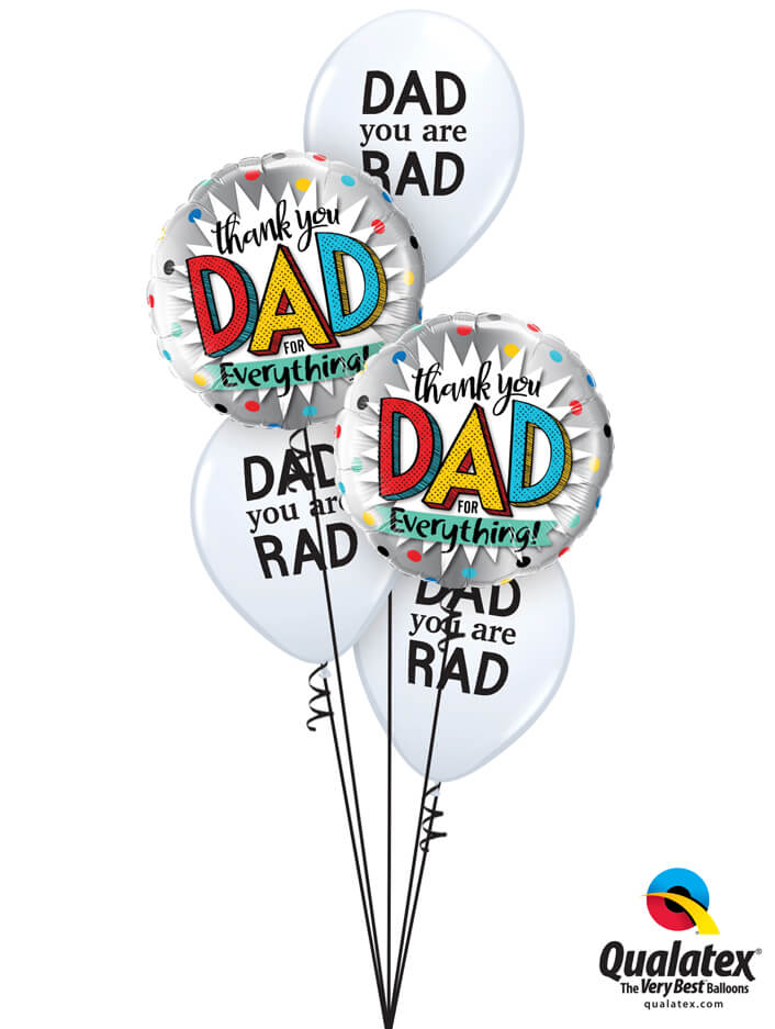Bukiet 989 Well Done, Dad! Qualatex #55818-2 98555-3