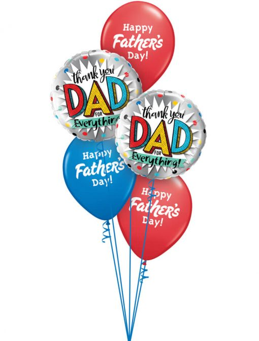 Bukiet 985 Thanks Dad Qualatex #55818-2 24362-3