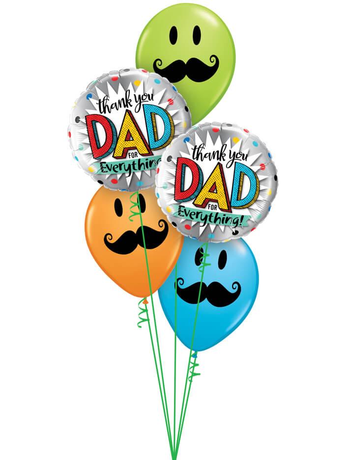 Bukiet 986 Big Thanks To Dad Qualatex #55818-2 60044-3
