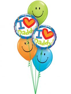 Bukiet 987 Smile Dad! Qualatex #55821-2 85107-3