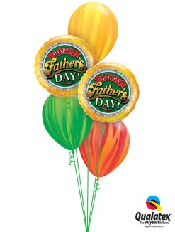 Bukiet 990 Father's Day SuperAgate® Spectacular Qualatex #82297-2 91541-1 91540-1 91539-1