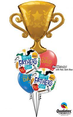 Bukiet 998 Awesome Dad Award! Qualatex #87986 98465-2 11238-2 43742-1 43790-1