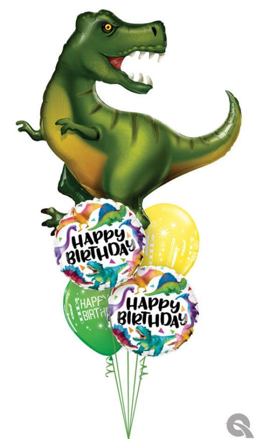 Bukiet 979 Have a Roarsome Birthday! Qualatex #88459 97382-2 52963-2