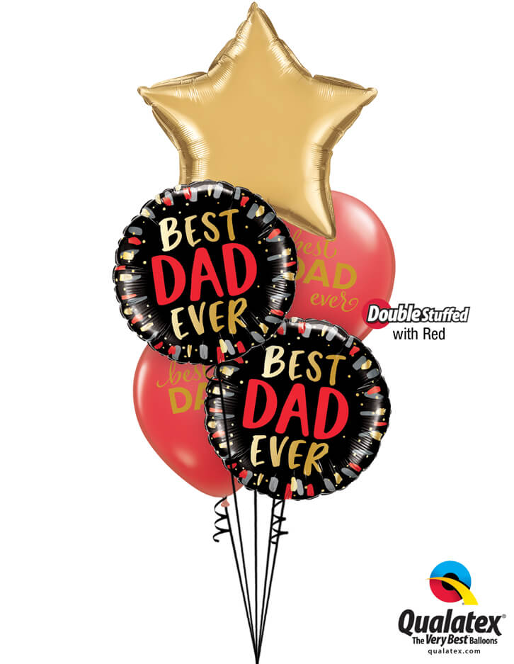 Bukiet 993 What's a Dad? You! Qualatex #89657 98428-2 11238-2 43790-2