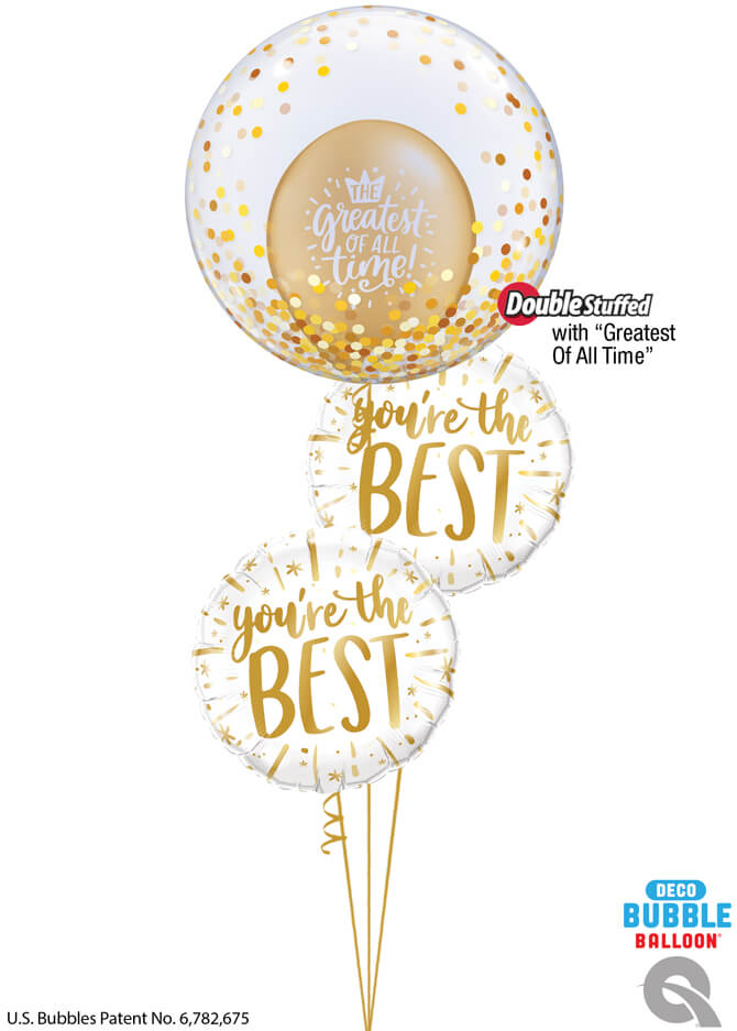 Bukiet 994 You Sparkle Inside and Out! Qualatex #89727 88169-2