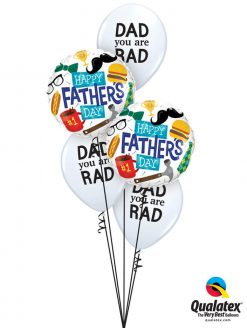 Bukiet 991 Glad You're My Dad! Qualatex #98465-2 98555-3