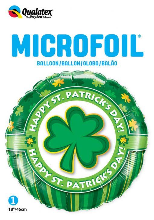 "18"" / 46cm Happy St. Patrick's Day! Qualatex #46056"