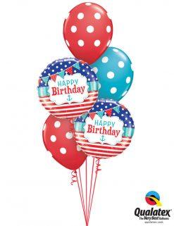 Bukiet 1028 Port to Starboard Birthday Qualatex #49178-2 14248-3