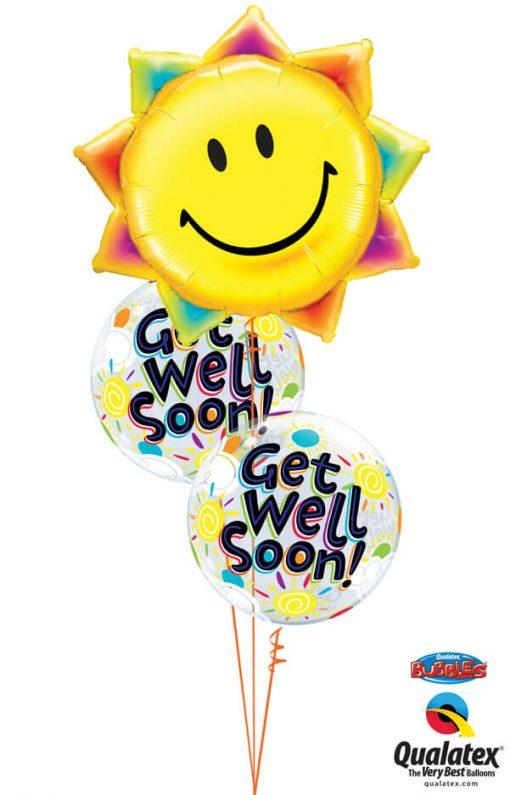 Bukiet 1003 Sunny Well Wishes Qualatex #26531 49337-2