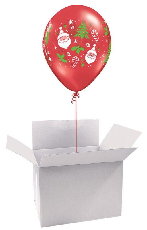 11″ / 28cm Poczta Balonowa Classic Świąteczna z Balonem Lateksowym